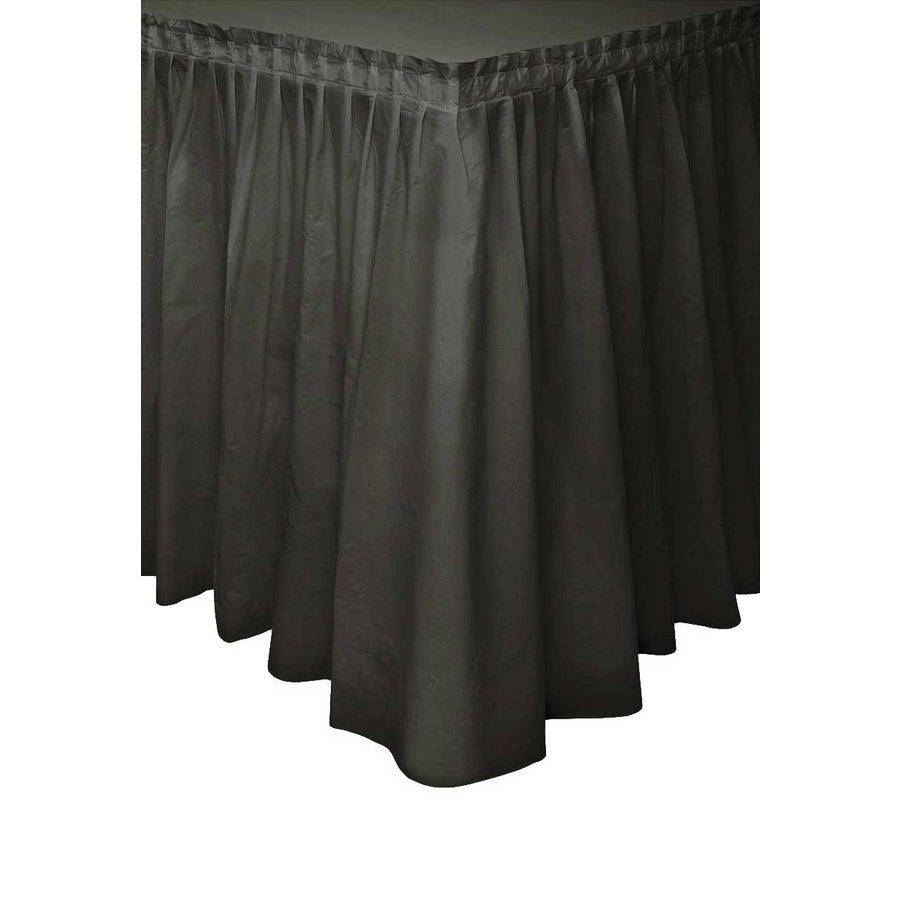 Tafelrok Zwart - 74 x 426 cm-1