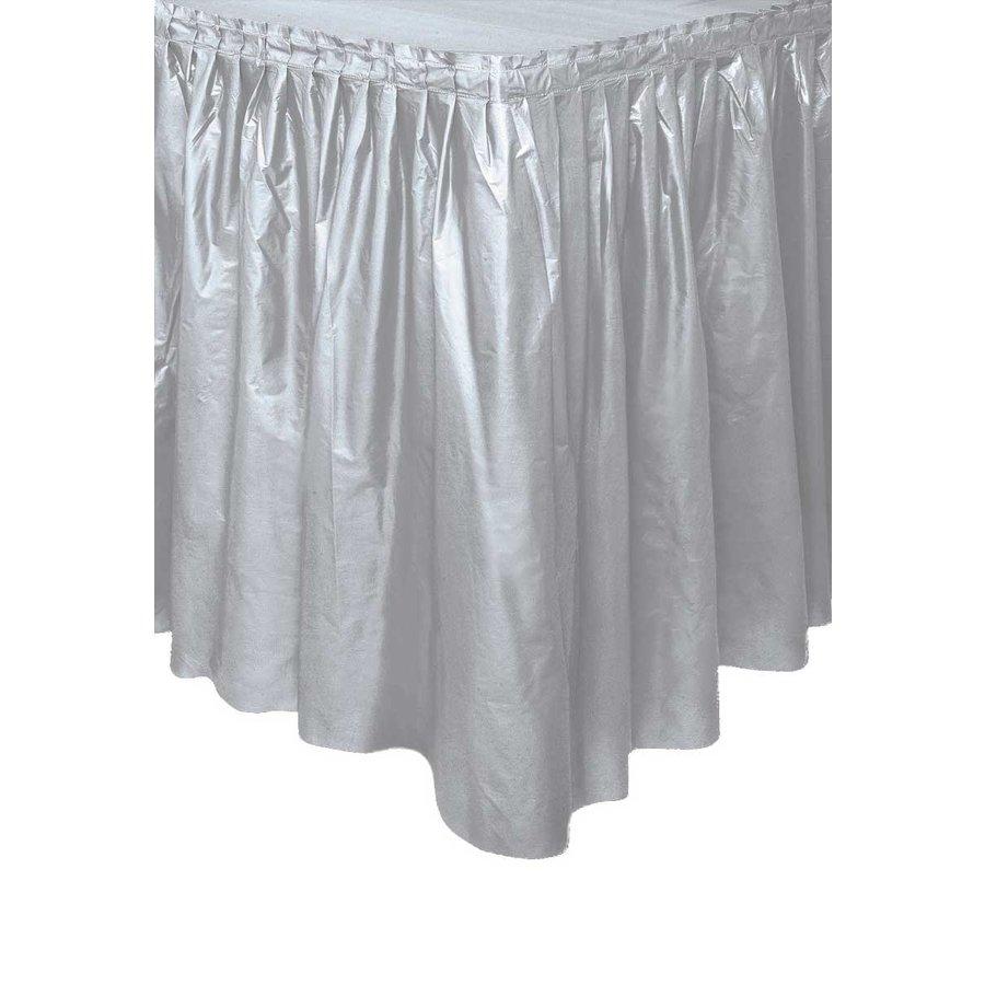 Tafelrok Zilver - 74 x 426 cm-1