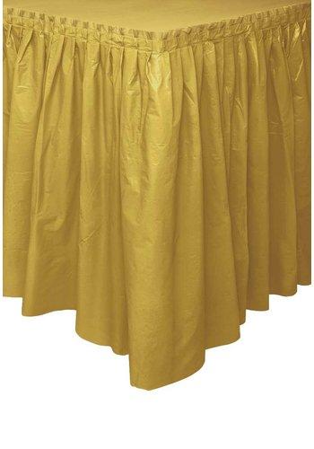 Tafelrok Goud - 73 x 426 cm
