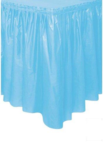 Tafelrok Licht Blauw - 74 x 426 cm