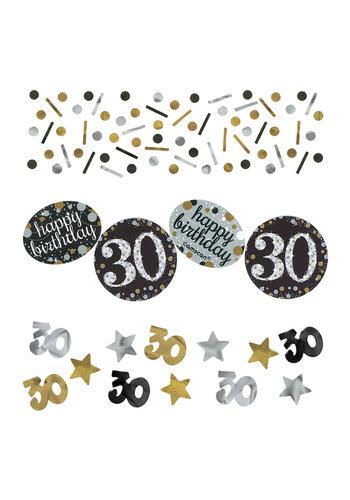 Confetti 30 Sparkling Celebration Silver&Black - 34 g