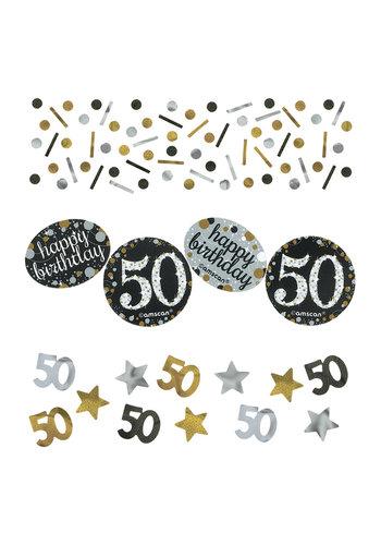Confetti 50 Sparkling Celebration Silver&Black - 34 g
