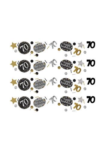 Confetti 70 Sparkling Celebration Silver&Black - 34 g