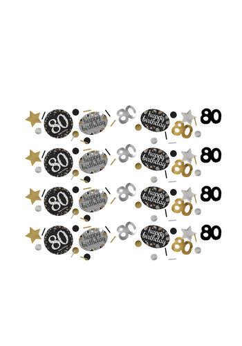 Confetti 80 Sparkling Celebration Silver&Black - 34 g