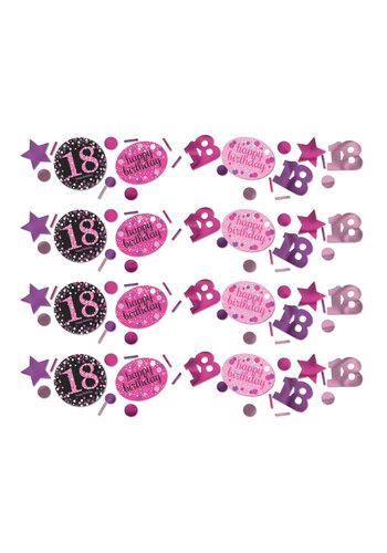 Confetti 18 Sparkling Celebration Pink&Black - 34 g
