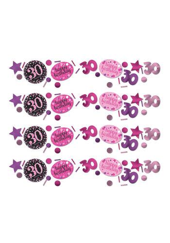 Confetti 30 Sparkling Celebration Pink&Black - 34 g