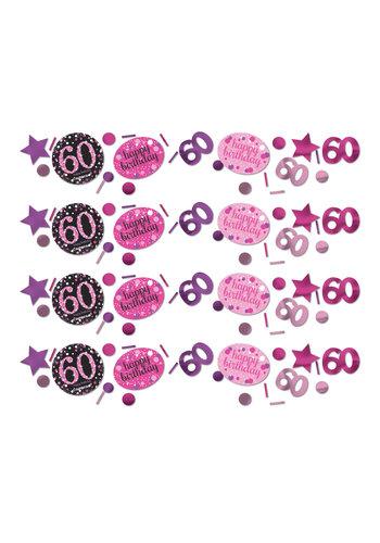 Confetti 60 Sparkling Celebration Pink&Black - 34 g