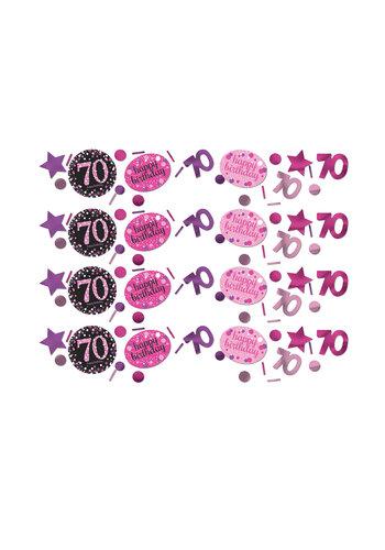 Confetti 70 Sparkling Celebration Pink&Black - 34 g