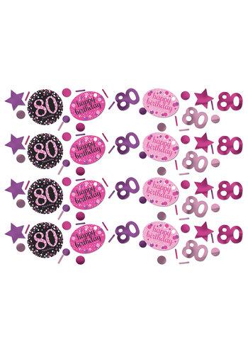Confetti 80 Sparkling Celebration Pink&Black - 34 g