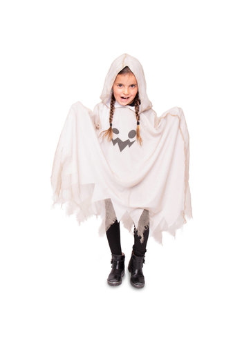 Spook Poncho Kind - One Size