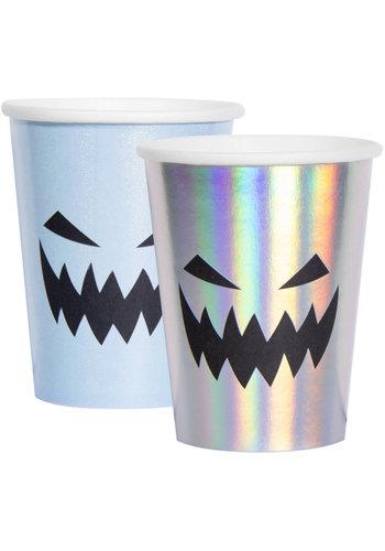 Bekertjes Papier Creep Pastel - 250ml - 6 stuks