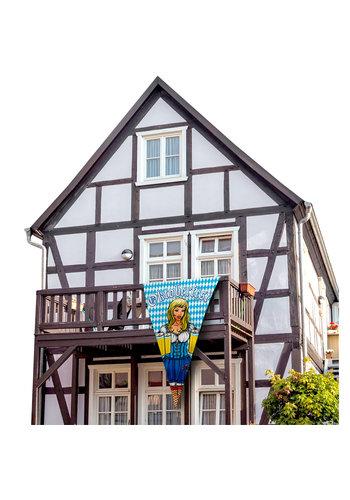 Mega Banner Vlag Oktoberfest - 90x150cm