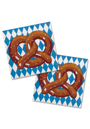 Servetten Oktoberfest - 20 st - 25cm