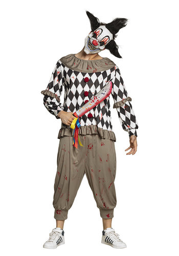 Machete Horror clown - 53cm