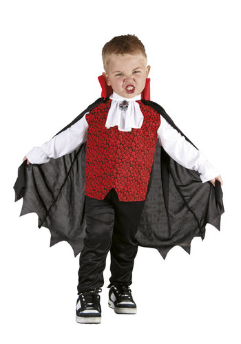 Kinderkostuum Vampire scamp (3-4 jaar)