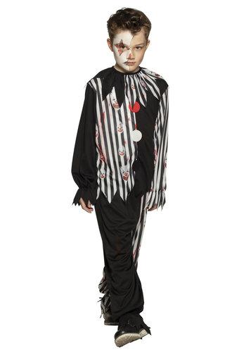 Kinderkostuum Bloody clown