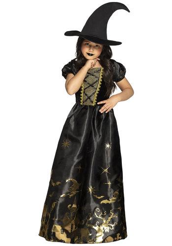 Kinderkostuum Spooky witch