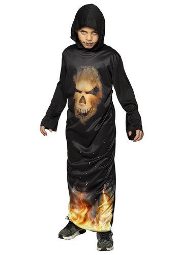 Kinderkostuum Mr Skull fire