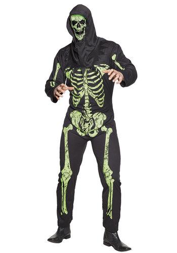 Volwassenenkostuum Scary skeleton - M/L
