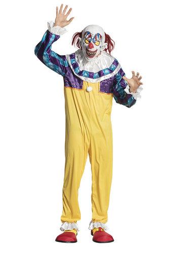 Volwassenenkostuum Creepy clown - M/L