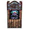 Animated clown ticket seller - 30 cm