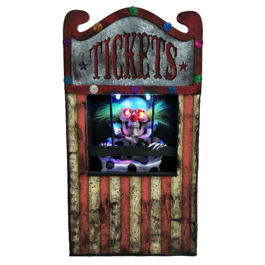 Animated clown ticket seller - 30 cm-1