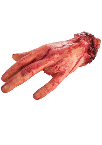 Bloody Hand with Amputaded Finger - 22cm