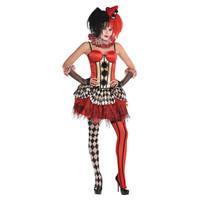 Freakshow Corset Clown - M/L