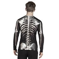 thumb-Fotorealistisch shirt Skeleton - L-2