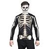 Fotorealistisch shirt Skeleton - L