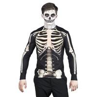 thumb-Fotorealistisch shirt Skeleton - L-1