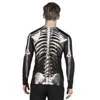 thumb-Fotorealistisch shirt Skeleton - XL-2