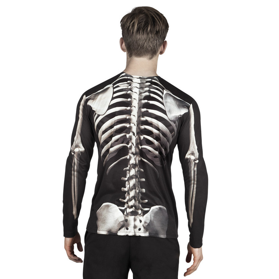 Fotorealistisch shirt Skeleton - XL-2