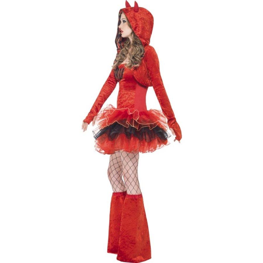 Fever Devil Tutu Dress - S-2