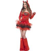 thumb-Fever Devil Tutu Dress - S-1