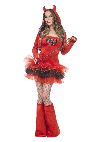Fever Devil Tutu Dress - S