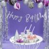 LetterBanner Happy Birthday - Zilver