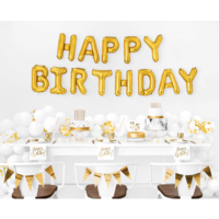 thumb-Servetten Happy Birthday - 33x33cm - 20 stuks-2