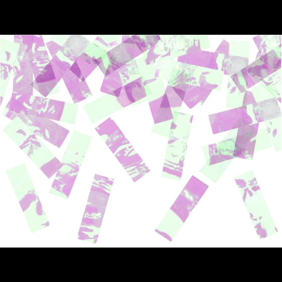 Confetti kanon - iriserend - 60cm-1