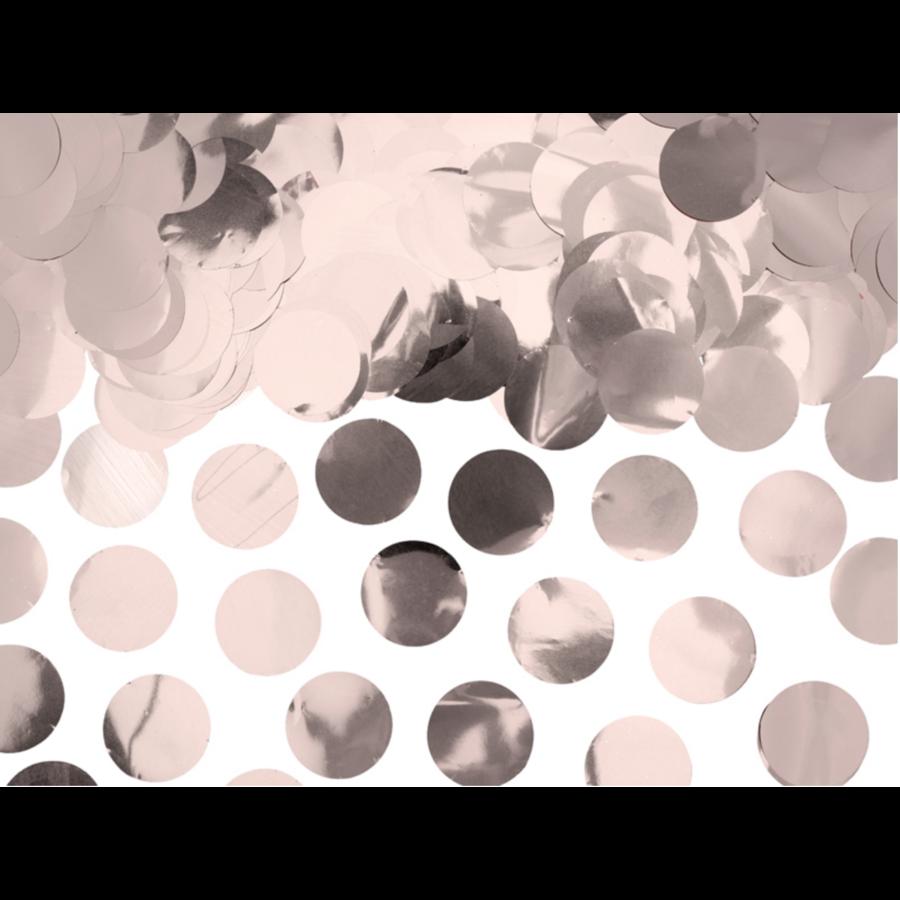 Confetti metaalfolie - Rose Gold - 15 gr - Ø25 mm-2