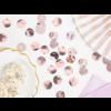 Confetti metaalfolie - Rose Gold - 15 gr - Ø25 mm