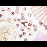 thumb-Confetti metaalfolie - Rose Gold - 15 gr - Ø25 mm-1