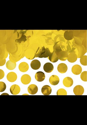 Confetti metaalfolie - Goud - 15 gr - Ø25 mm