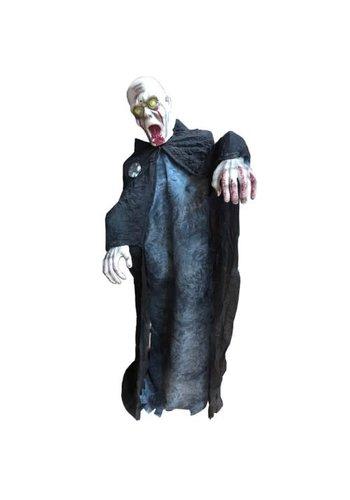 Skelet Scary Larry, bewegend met licht en geluid - 140 cm
