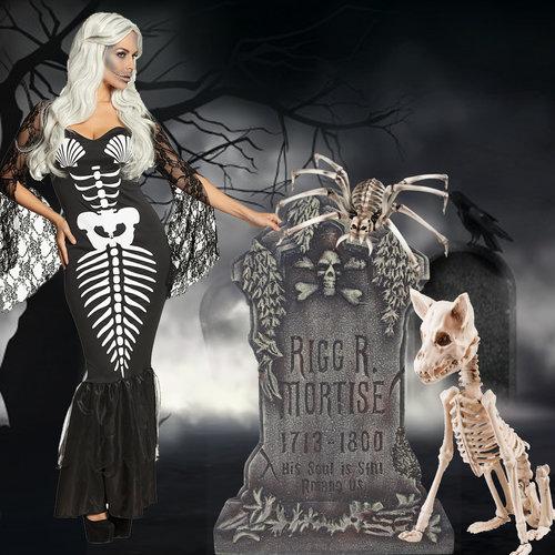 Skeletten en kerkers