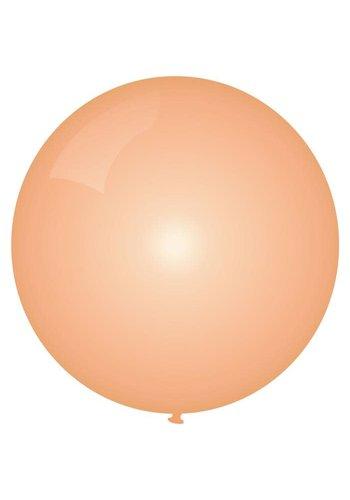 Mega Ballon Metallic Rosé Gold - 90cm - 1 stuk