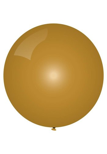 Mega Ballon Metallic Goud - 90cm - 1 stuk