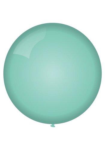 Mega Ballon Mint - 90cm - 1 stuk