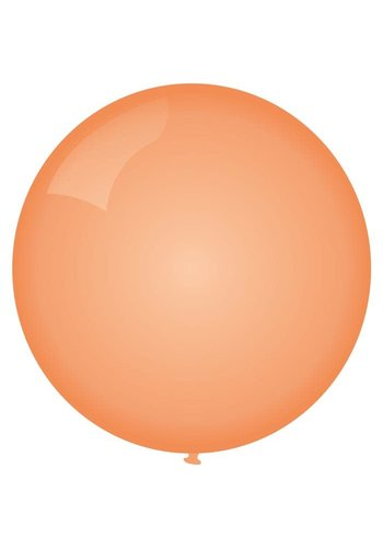 Mega Ballon Peach - 90cm - 1 stuk
