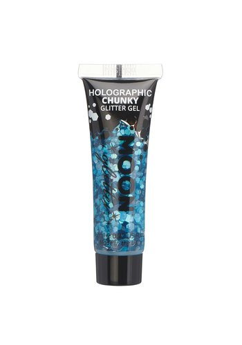 Holographic chunky Glitter gel Blue - 12ml